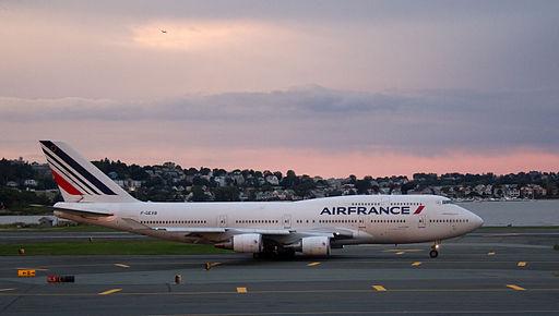 Air France Boeing 747 400 F-GEXB (6236972935)