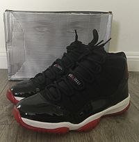 various colors 8dc50 019ce Nike Air Jordan XI, (Bred Colorway)
