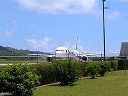 Air New Zealand at Rarotonga Int Airport