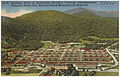 Airplane view of Swannanoa Division, Veterans Administration Hospital, Oteen, N.C. between Black Mountain and Asheville (5811479421).jpg