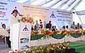 Ajit Singh addressing at the inauguration of the New Integrated Terminal Building, at Goa International Airport, Goa. The Governor of Goa, Shri Bharat Vir Wanchoo, the Chief Minister, Shri Manohar Parrikar.jpg