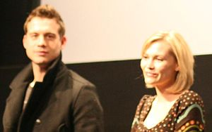 Birdemic: Shock and Terror - Bagh, left, and Moore at a screening of the film