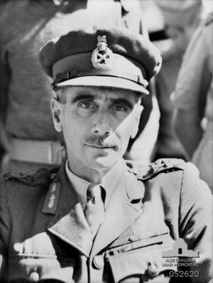 George Alan Vasey - Major General Alan Vasey in June 1943