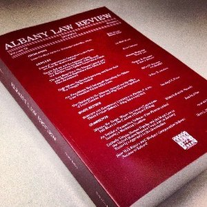 Albany Law School - Image: Albany Law Review