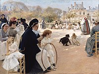 Albert Edelfelt - The Luxembourg Gardens, Paris.jpg