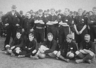 Albion F.C. - Albion FC football team in 1898.