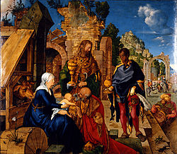 Albrecht Dürer: Adoration of the Magi