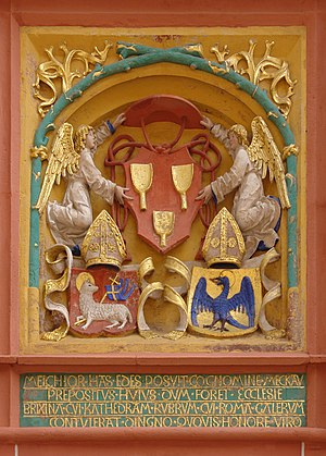 Melchior von Meckau - Coat of arms of Cardinal Melchior von Meckau