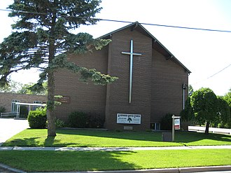Alderwood, Toronto - Alderwood United Church is located in the neighbourhood.