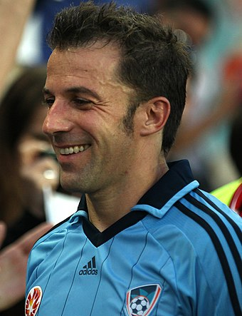Alessandro Del Piero joined the league in 2012, as Sydney FC's marquee player. Alex Del Piero Sydney FC 2 cropped.jpg