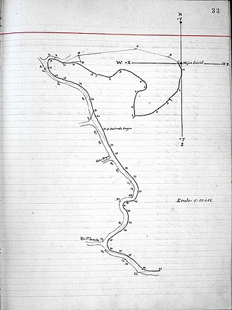 Territorial disputes of Nicaragua - Image: Alexander Commission Map 1898