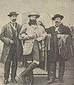 Alexandre Fillol, Barao de Mendonca, Dr. Correia - GazetaCF 1529 1951.jpg