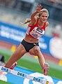 Alica Schmidt 2018 DM Leichtathletik - 400-Meter-Huerden Frauen - by 2eight - DSC9423 (cropped - Schmidt).jpg