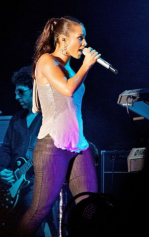 Put It in a Love Song - Image: Alicia Keys at the Summer Sonic Festival crop