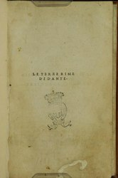 Dante Alighieri: Le terze rime