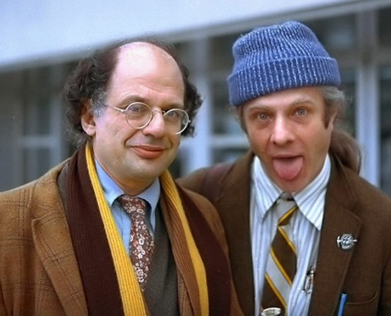 Allen Ginsberg und Peter Orlowski ArM