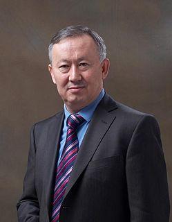 Alnur Mussayev Kazakhstani intelligence chief