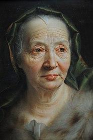 Alte Frau VeuGelt