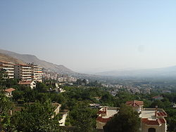 Skyline of Zabadani