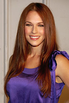 Amanda Righetti a Santa Monica (2009)