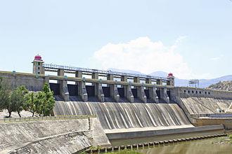 Amaravathi Dam - Amaravathi reservoir in amaravathi nagar