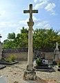 Ampilly-les-Bordes Cemetery Cross.JPG