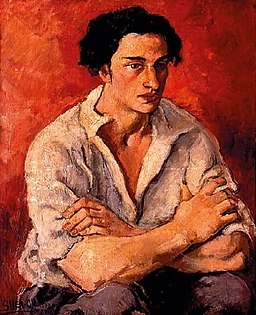 Amrita Sher-Gil - Portrait of young man