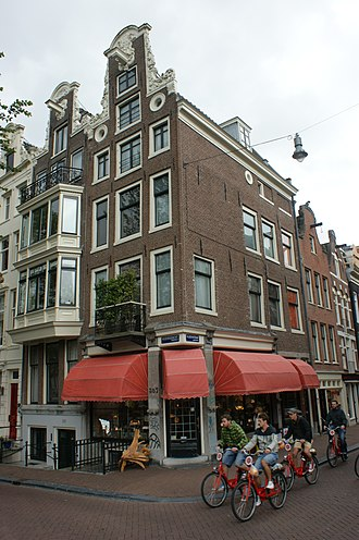 Negen Straatjes - Image: Amsterdam Keizersgracht 357