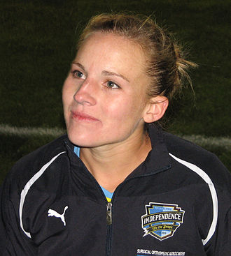Amy Rodriguez - Rodriguez with Philadelphia Independence in 2010