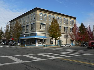 Anacortes, Washington - The 619 Commercial Avenue building