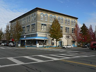 Anacortes, Washington - The 619 Commercial Avenue building
