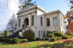 National Register of Historic Places listings in Skagit County, Washington - Image: Anacortes Public Library (now museum) 03