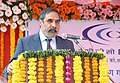 Anand Sharma addressing at the foundation stone laying ceremony for the Green Building Complex of Export Credit Guarantee Corporation of India (ECGC), at Andheri, in Mumbai on March 14, 2013.jpg