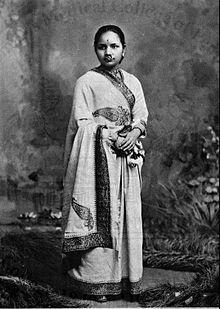 First First Lady DoctorAnandi Gopal Joshi