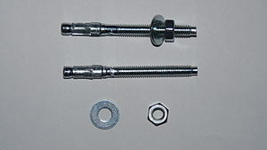 Anchor bolt - Image: Ancor bolt for concrete