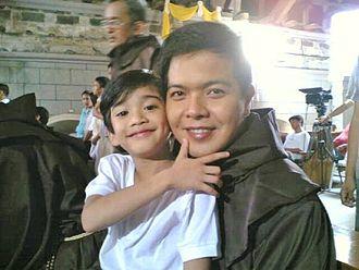 May Bukas Pa (2009 TV series) - Zaijian Jaranilla (left) portrays Santino. Andre Tiangco (right) portrays Fr. George