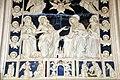 Andrea e Giovanni della Robbia, Gesù e la Vergine intercedono presso l'Eterno, 1495-1500 (04).jpg