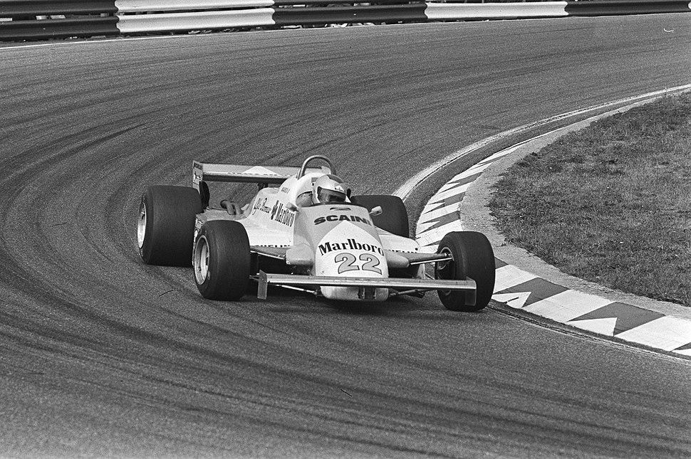 Andretti at 1981 Dutch Grand Prix