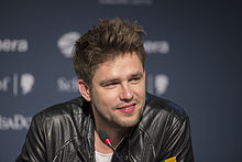 Andrius Pojavis, ESC2013 press conference 05.jpg