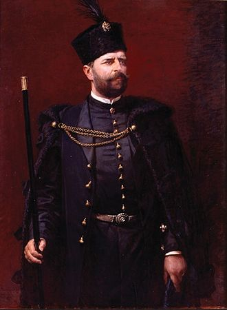 Diet of Galicia and Lodomeria - Duke Alfred Józef Potocki, Marshal of the Galician Sejm in 1875