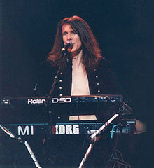 Andy Nye onstage in 1994.