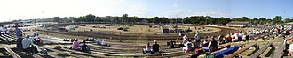 Angell Park Speedway - Image: Angell Park Speedway Panorama July 2012