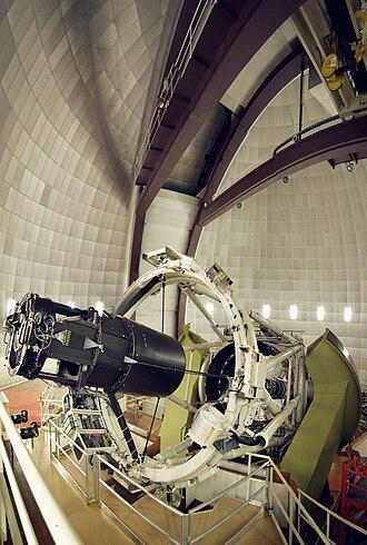 Anglo-Australian Telescope - 3.9-metre equatorially mounted telescope