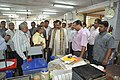 Anil Shrikrishna Manekar Explaining Portable Fun Science Exhibits To Mahesh Sharma - CRTL Workshop - NCSM - Kolkata 2017-07-11 3454.JPG
