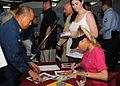 Anna Kournikova visits Sailors in Guam DVIDS125831.jpg