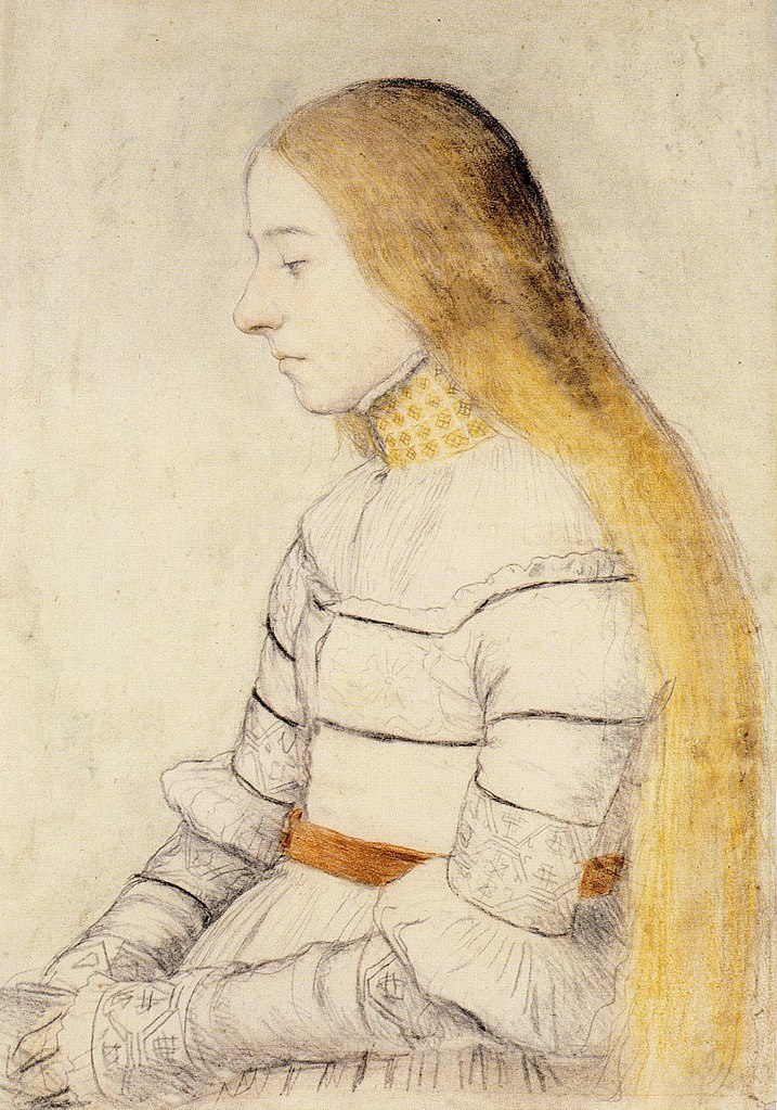 Hans Holbein de jongere, portret van Anna Meyer