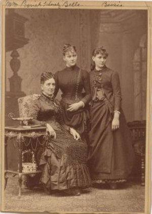 Anna Pessiak-Schmerling - Anna Pessiak-Schmerling, soprano Belle Brown and Bessie Brown