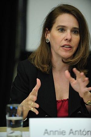 Annie Antón - Antón in 2010