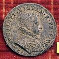 Anonimo, medaglia di filippo III di spagna, 1598, arg..JPG