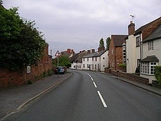 Ansty, Warwickshire - Image: Ansty Warwickshire main road 6j 08